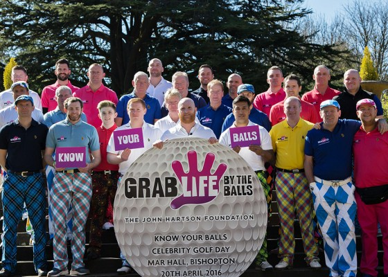The John Hartson Foundation Golf Day 2015