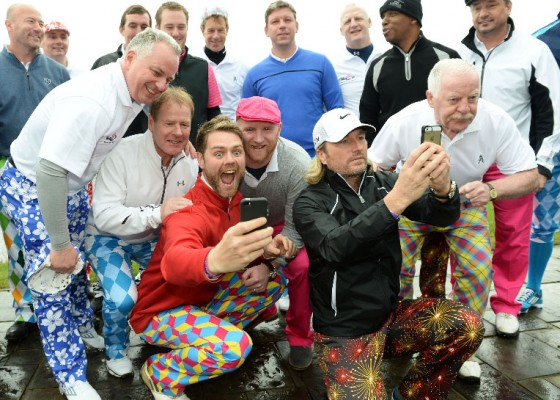 The John Hartson Foundation Golf Day 2014