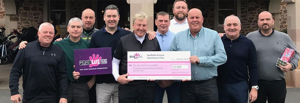 Seafield's Sportsman's Annual Charity Day raises £3,300 for JHF
